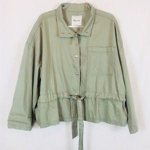 Madewell | NWT Southlake Military Jacket Size 2X